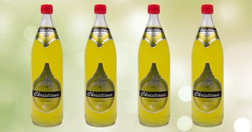 De 1liter fles chritiana Lemon